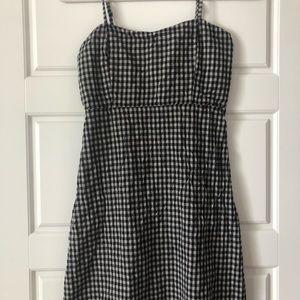 Brandy Melville dress!! Black and white gingham